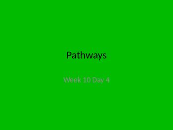 kindergarten pathways to Reading powerpoint Day 4 Letter Aa