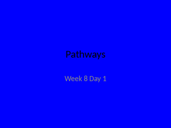 kindergarten pathways to Reading powerpoint Day 1 Letter Ii