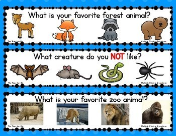 kindergarten-primary grades-Pre-school-Question of the Day-Multiple choice