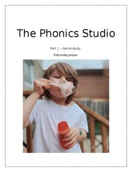 kindergarten reading program phonics