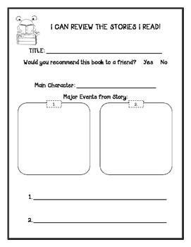 kindergarten student book review