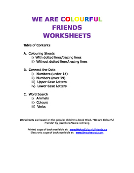 Kindergarten Colouring Worksheet--Lion