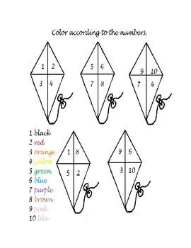 kite coding numbers