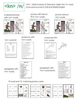 kn phonogram - Orton-Gillingham lesson resources