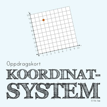 koordinatsystem (oppdragskort)