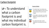 ks3 gcse 1-9 geography carbon footprint calculator science
