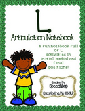 /l/ Articulation Notebook!