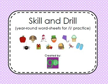 Articulation Skill and Drill for /l/