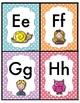 l'alphabet à tracer
