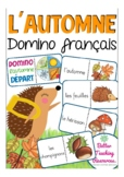 l'automne - French domino game primary school / (fall / autumn)
