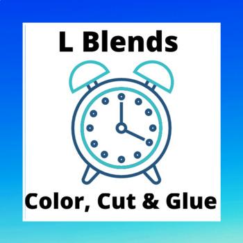 l blend print-and-go; cut, color and glue sheets