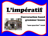 l'impératif (French commands - in town)