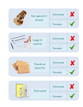 l'imperativo formale e informale formal and informal commands italian