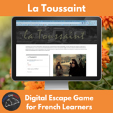 la Toussaint - spooky stuff escape game for French learners