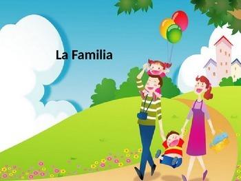 la familia Spanish vocabulary family vocabulary