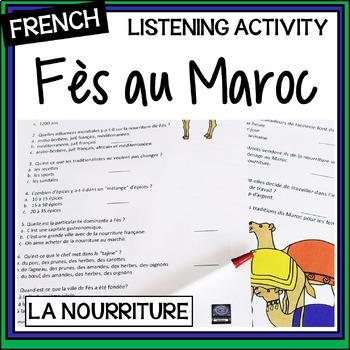 la nourriture de Fez au Maroc – Fez Street Food – video questions