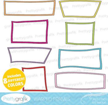 label frames clipart commercial use, vector graphics, digital clip art - CL539