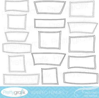 label frames clipart commercial use, vector graphics, digital clip art - CL540