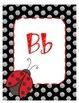 ladybug alphabet