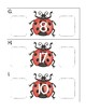 ladybugs number sequence: one less, one more