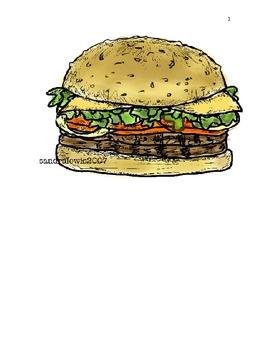 large flash cards 45 color food items original in pdf format
