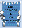las comidas y las bebidas one day lesson Plan