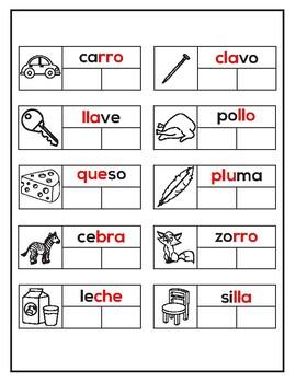 las silabas trabadas  PDF