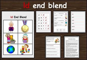 ld end blend work packet