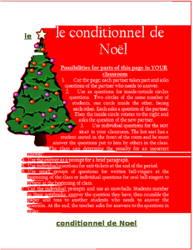 le conditionnel de Noel FRENCH