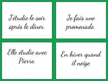 le marché de questions - French Questions - Speaking Activity - Interrogatives
