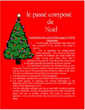 le passé composé de Noel