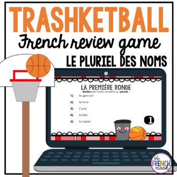 le pluriel des noms Trashketball review game