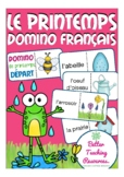 le printemps - French domino game primary school / jeu (spring)