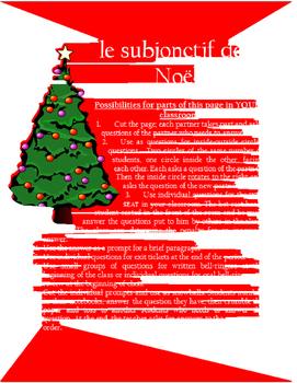 le subjonctif de Noel FRENCH