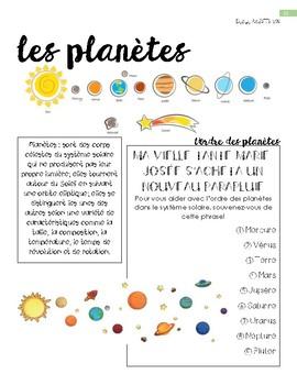 le système solaire (partie 1)