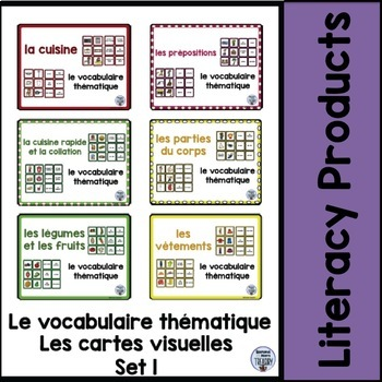 le vocabulaire thématique - Set 1 Bundle