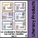 le vocabulaire thématique - Set 2 Bundle