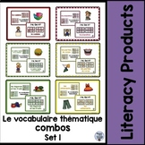 le vocabulaire thematique combos - Set 1 Bundle