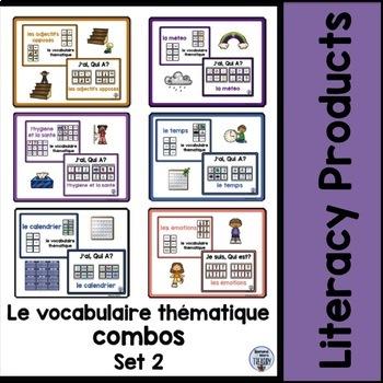 le vocabulaire thématique combos - Set 2 Bundle
