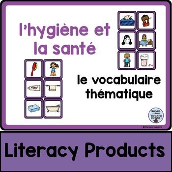 le vocabulaire thématique - l'hygiène et la santé