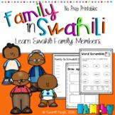 Learn Swahili: Family Members