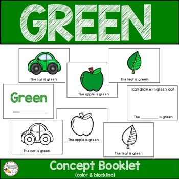 Color Green Activities
