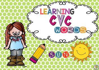 FREEBIE Learning cvc words