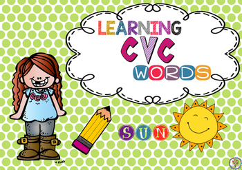 FREEBIE Learning cvc words