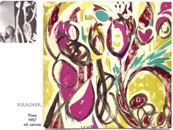 KRASNER Lee Krasner - Abstract Art Art History Modern Art