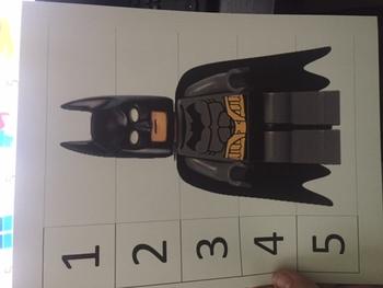 lego superhero number puzzles