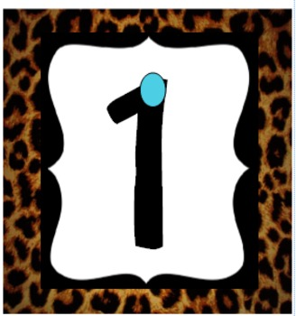 leopard touch numbers