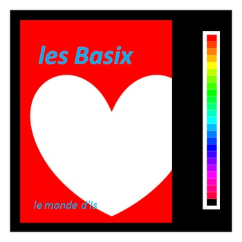 "les Basix : des cartes format PL ""with heart"""