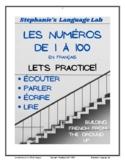 les NUMÉROS de 1 à 100 en français / the NUMBERS from 1-100 in French