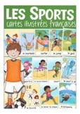 les SPORTS - French flash / picture cards vocabulary for p